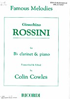 Famous Melodies by Gioacchino Rossini