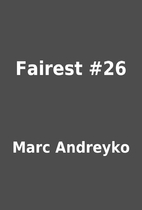 Fairest #26 by Marc Andreyko