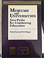 Museums and Universities: New Paths for…
