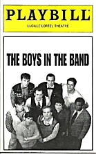 The Boys in the Band Playbill: Lucille…