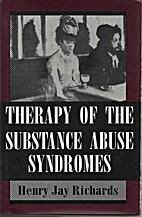 Therapy of the Substance Abuse Syndromes by…