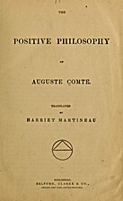 The Positive Philosophy of Auguste Comte by…