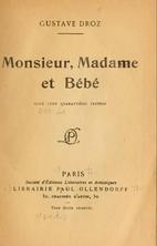 Monsieur, madame & bébé by Gustave Droz