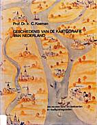 Geschiedenis van de kartografie van…