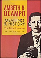 Meaning & History: The Rizal Lectures,…
