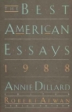 The Best American Essays 1988 by Annie…