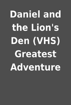 Daniel and the Lion's Den (VHS) Greatest…