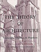 The Theory of Architecture: Concepts, Themes…