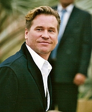 Author photo. Val Kilmer at the 2005 Cannes Film Festival [source: Georges Biard]