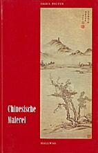 Chinesische Malerei: Die jüngere Tradition…