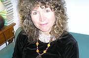Author photo. Caroline Lawrence