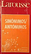Sinonimos Antonimos/Synonyms Antonyms by…