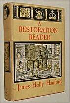 A Restoration Reader (Essay and General…