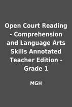 Open Court Reading - Comprehension and…