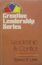 Leadership & Conflict (Creative Leadership…