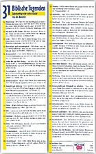 31 Biblische Tugenden [Lesezeichen] :…