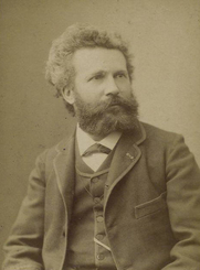 Author photo. Courtesy of the <a href=&quot;http://digitalgallery.nypl.org/nypldigital/id?1158363&quot;>NYPL Digital Gallery</a> (image use requires permission from the New York Public Library)