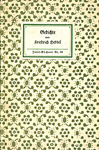 Gedichte by Friedrich Hebbel