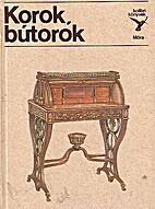 Korok, bútorok by Éva Kiss