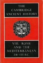 The Cambridge Ancient History: Vol. VIII (v.…
