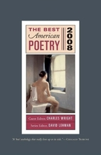 The Best American Poetry 2008 by Charles…