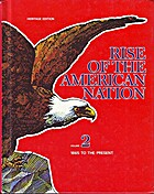 The Rise of the American Nation: Vol. 2-1865…
