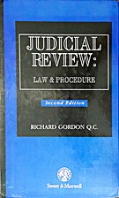 Judicial Review: Law and Procedure by R. J.…