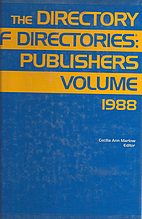 The Directory of Directories: Publishers…