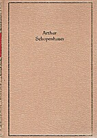 The living thoughts of Schopenhauer by…