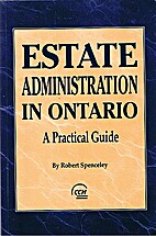 Estate Administration in Ontario: A…