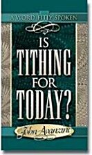 Is Tithing for Today? (Word Fitly Spoken) by…