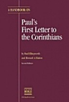 A Handbook on Paul's First Letter to the…