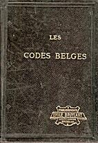 Les codes belges by ?