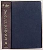 Samuel Johnson by W. Jackson Bate