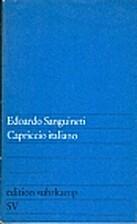 Capriccio Italiano (in The Award Avant-Garde…