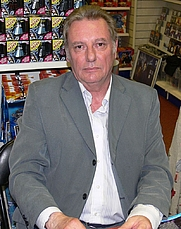 Author photo. British character actor Paul Darrow. By Tim Drury from Cambridge, Cambridgeshire