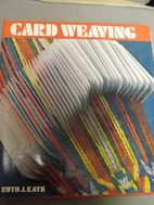Card Weaving by Ruth Katz