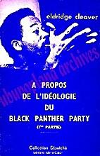 A propos de l'ideologie du Black…