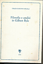 Filosofia e analisi in Gilbert Ryle by…