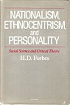 Nationalism, Ethnocentrism and Personality:…