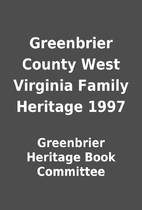 Greenbrier County West Virginia Family…