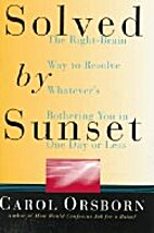 Solved By Sunset: The Right Brain Way to…