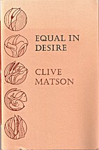 Equal in Desire by Clive Matson