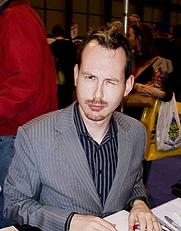Author photo. NYCC 2009