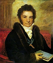 Author photo. Portrait by an unknown artist, from Wikipedia