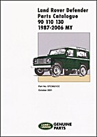 Land Rover One Ten Parts Catalogue 1987 On…
