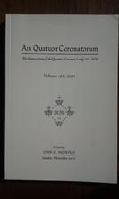 Ars Quatuor Coronatorum. Transactions of…