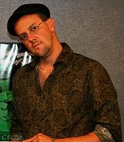 Author photo. Marco Conelli, creator of Matthew Livingston, Teen Sleuth.