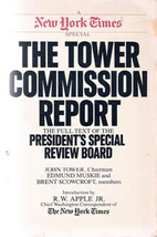 The Tower Commission Report by John G. Tower