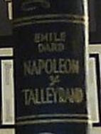 Napoleón y Telleyrand by Emile Dard